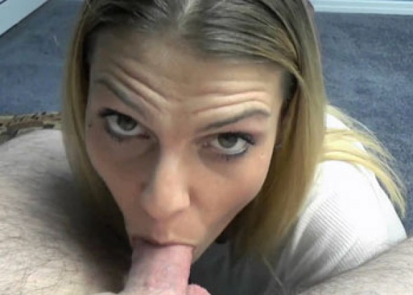 Stevie Rae does some POV cock sucking