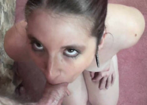 Gianna Love is giving a POV blowjob
